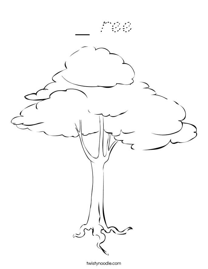 _ ree Coloring Page