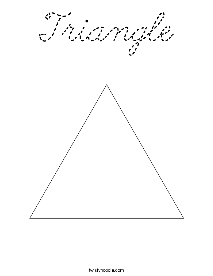Coloring page triangle triangle coloring 3 for Triangle coloring pages