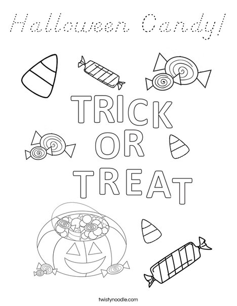 halloween letters coloring pages - photo#27