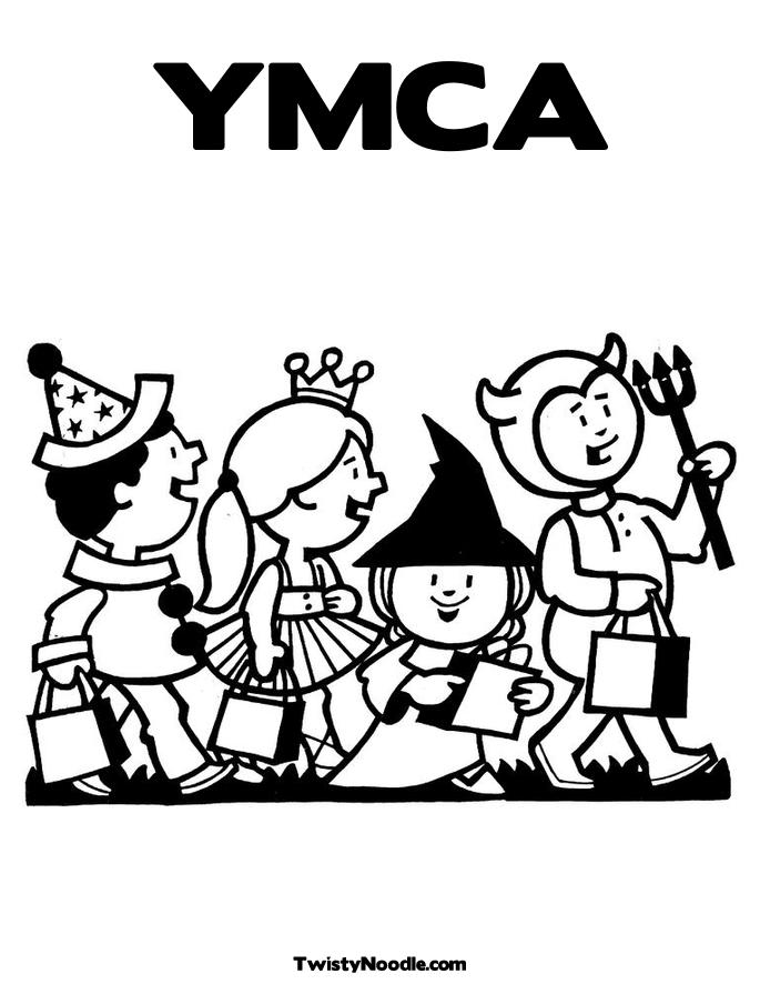 ymca coloring pages - photo#2