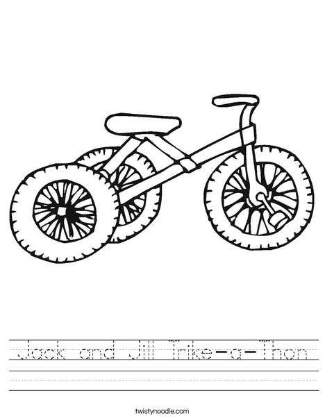 Tricycle Worksheet