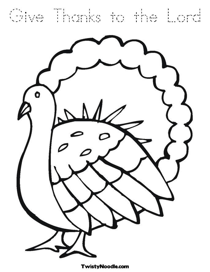 Free Coloring Pages Of Give Thanks To The Lord Give Thanks To The Lord Coloring Page