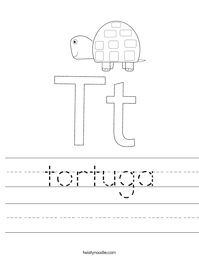tortuga Worksheet
