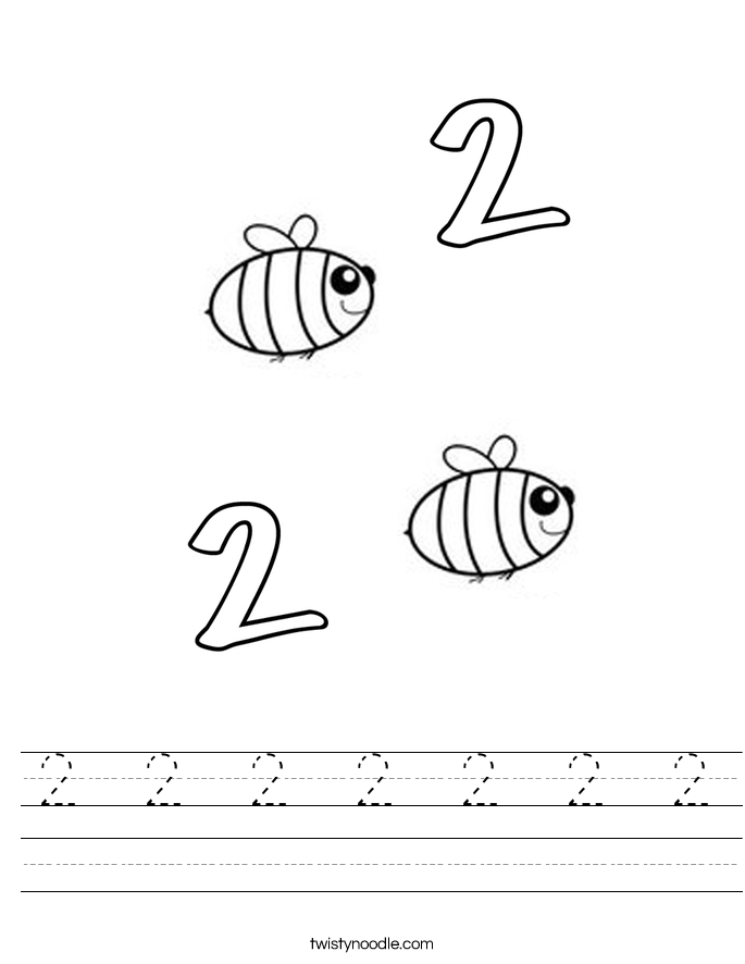 2  2  2  2  2  2  2 Worksheet