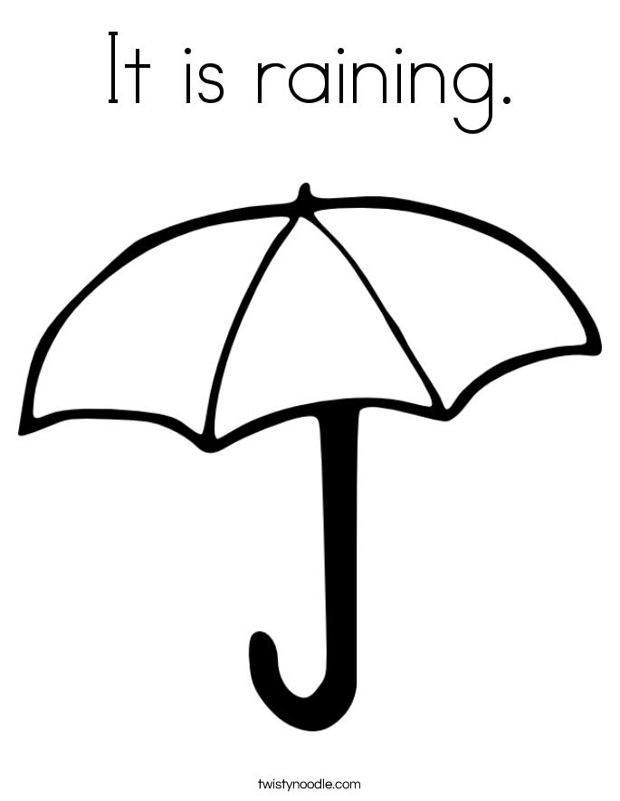 Weather Coloring Sheets For Kindergarten