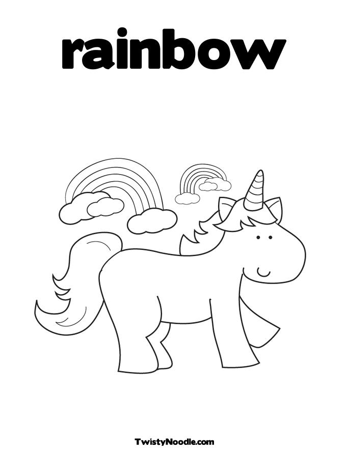 Free Coloring Pages Of Unicorn And Rainbow Printable Coloring Pages Unicorn Rainbow