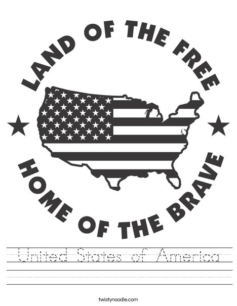 The Land of the Free Worksheet