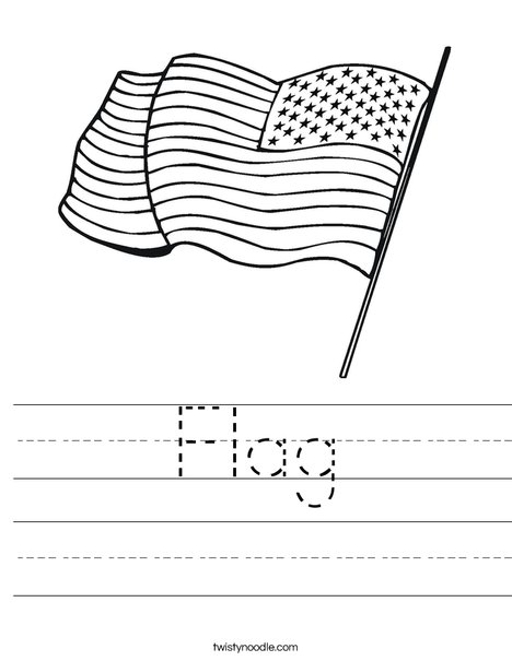 United States Flag Printables For Kids