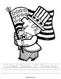 United States of America Worksheet