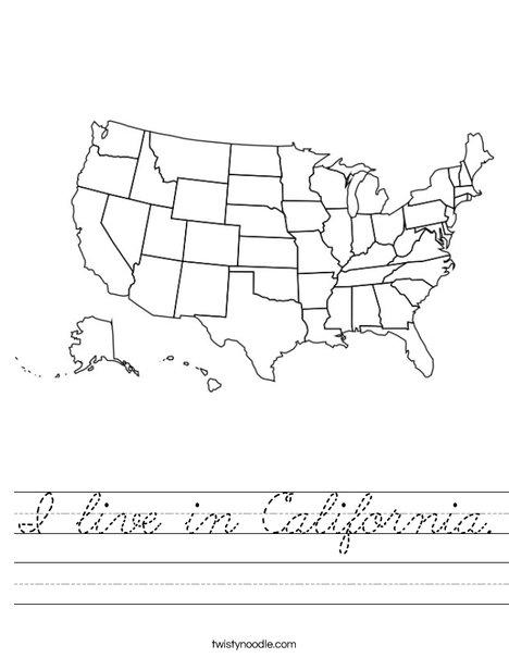 United States Worksheet