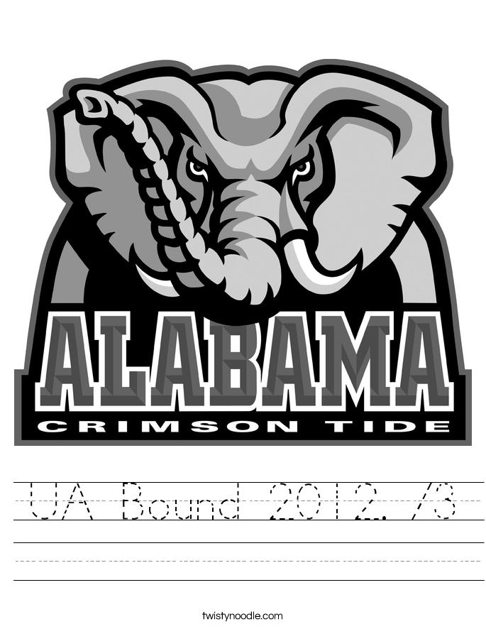 UA Bound 2012. <3 Worksheet