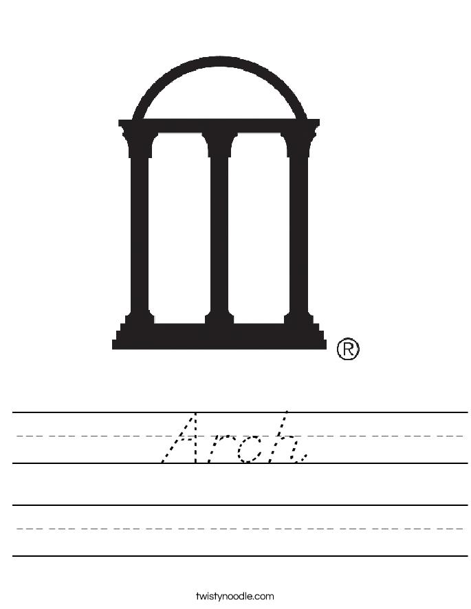 Arch Worksheet