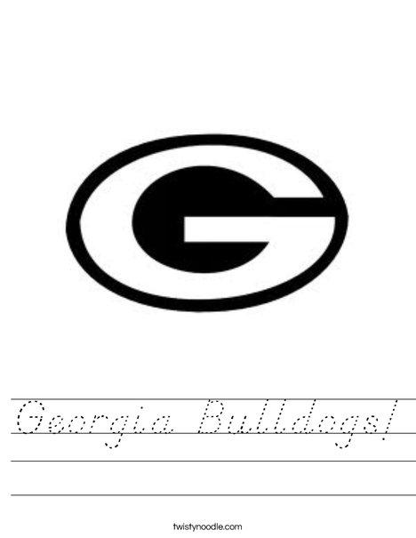 University of Georgia G Worksheet