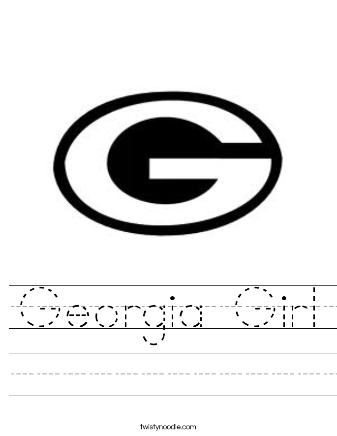 Georgia Girl Worksheet