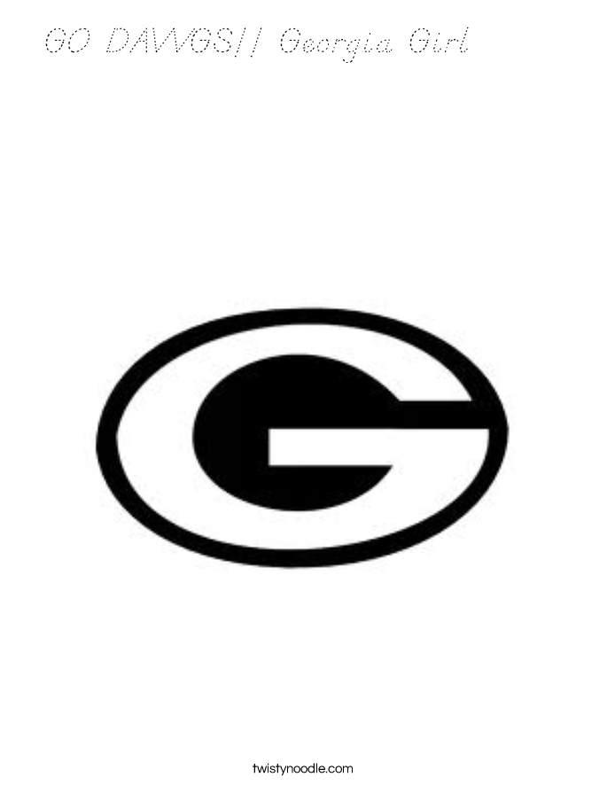 georgia bulldogs coloring pages - photo#13