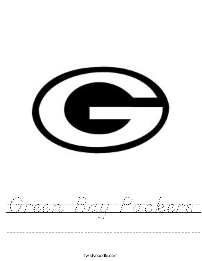 Green Bay Packers Worksheet
