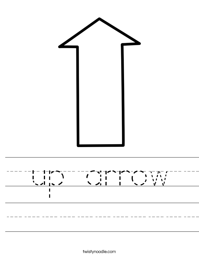 up arrow Worksheet