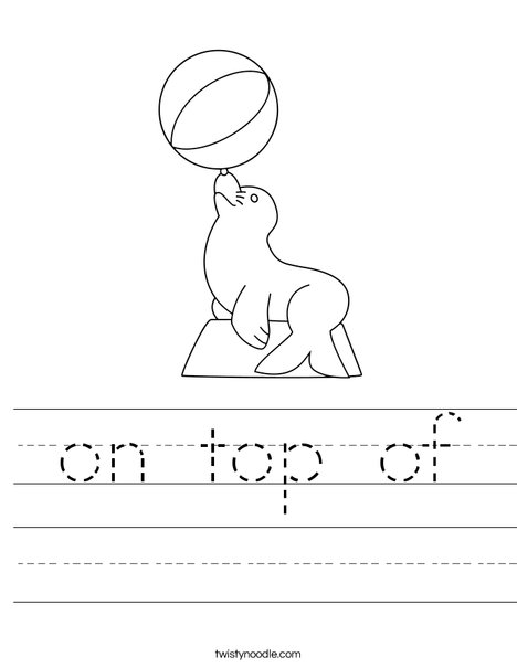 Up Worksheet