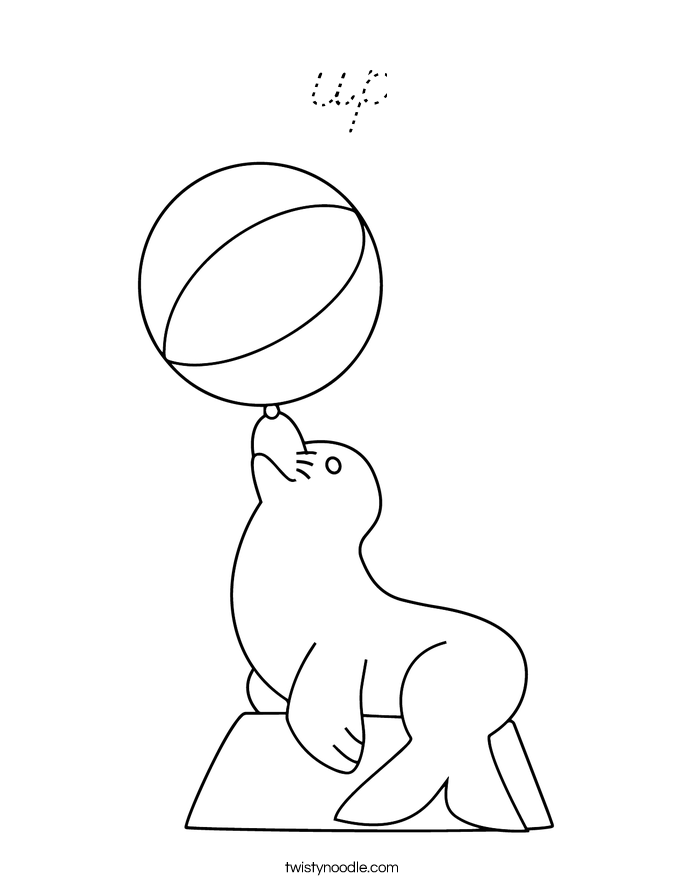 up Coloring Page