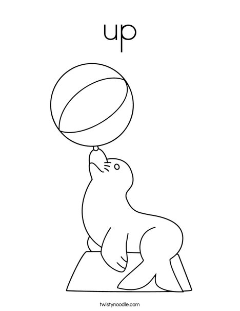 up Coloring Page Twisty Noodle