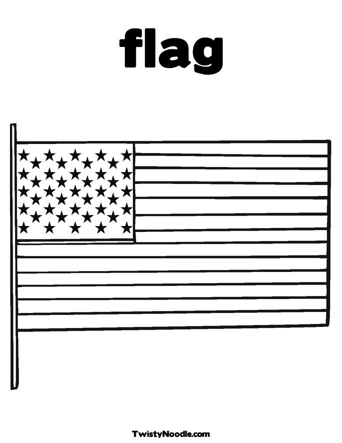 Free Coloring Pages Of Flag Of United States United States Flag Coloring Page