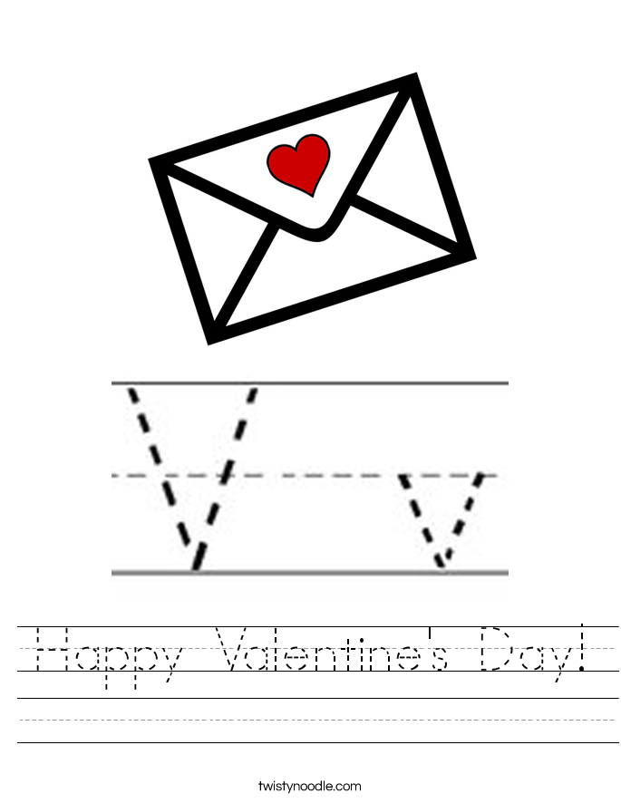 Happy Valentine's Day! Worksheet