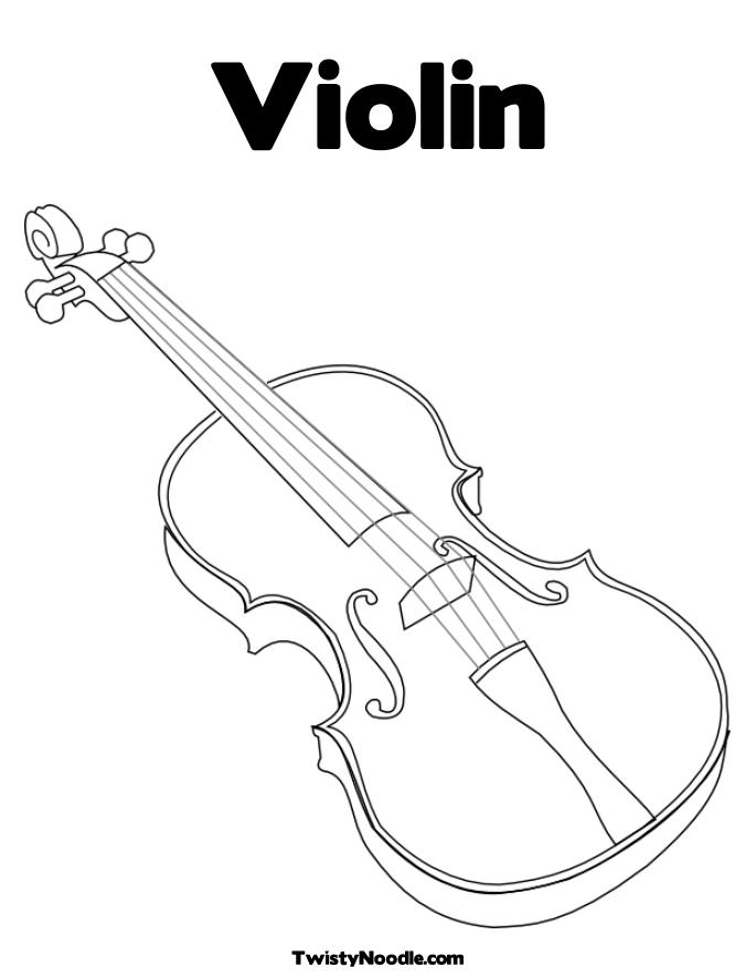 Abstract of a cello coloring pages for Cello coloring page