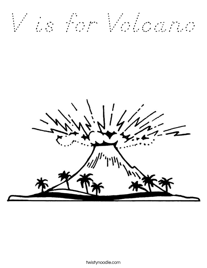 V Is For Volcano V is for Volcan...