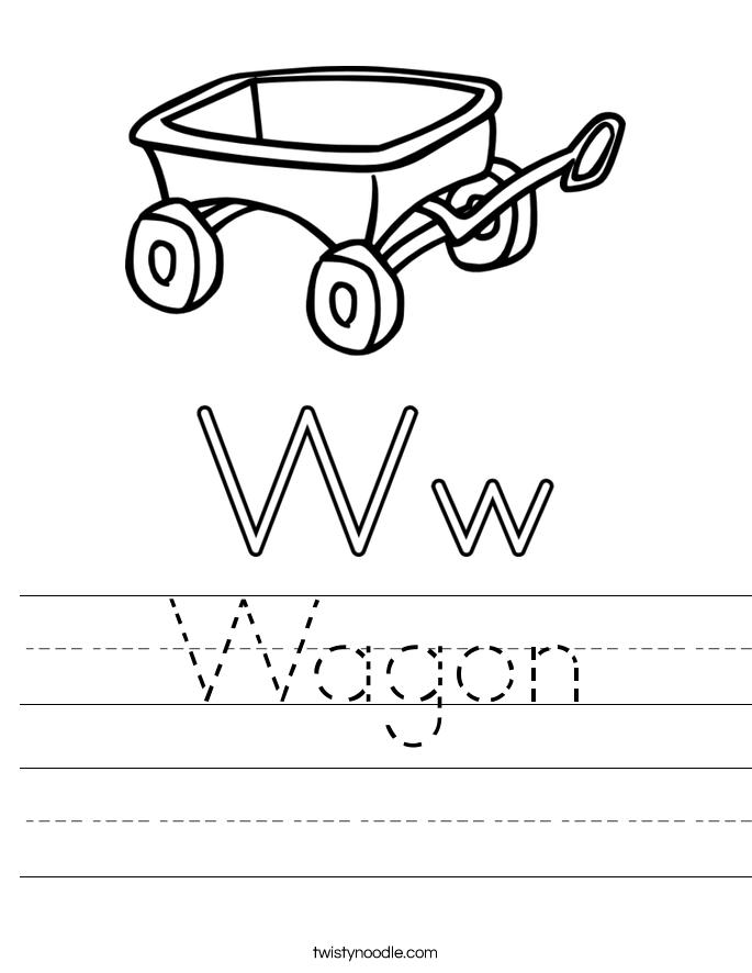 Wagon Worksheet