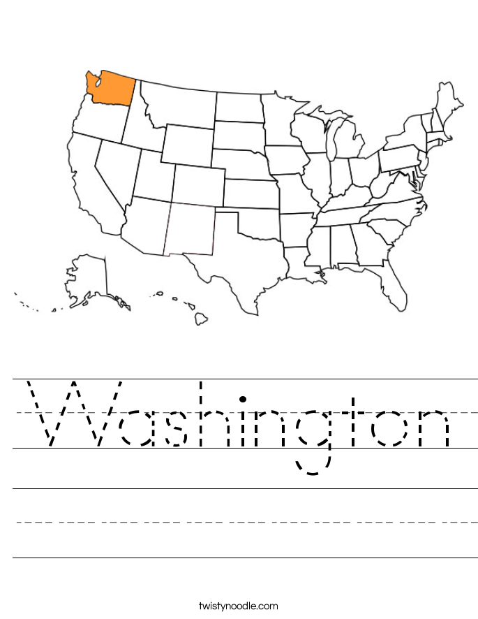 Washington Worksheet