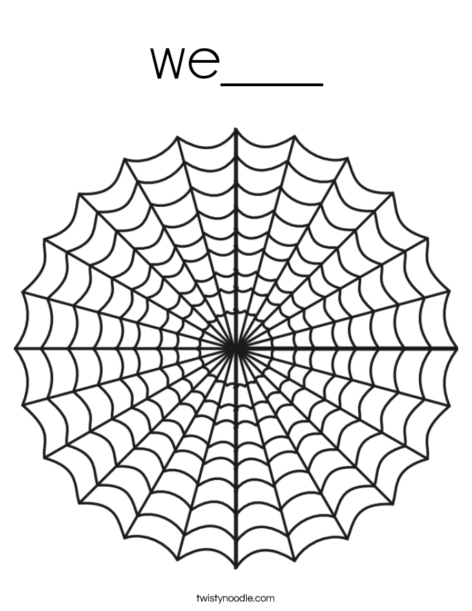 we___ Coloring Page