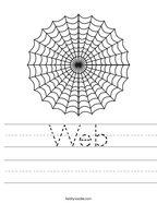 Web Handwriting Sheet