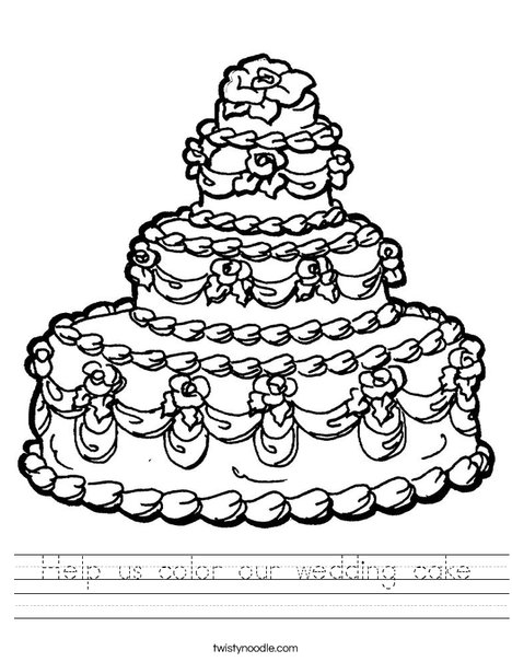 q and u wedding coloring pages - photo #5