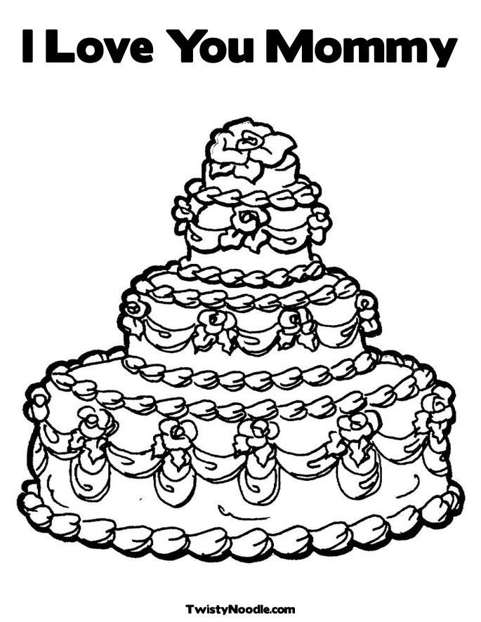 i love you mommy book. I Love You Mommy Coloring Page