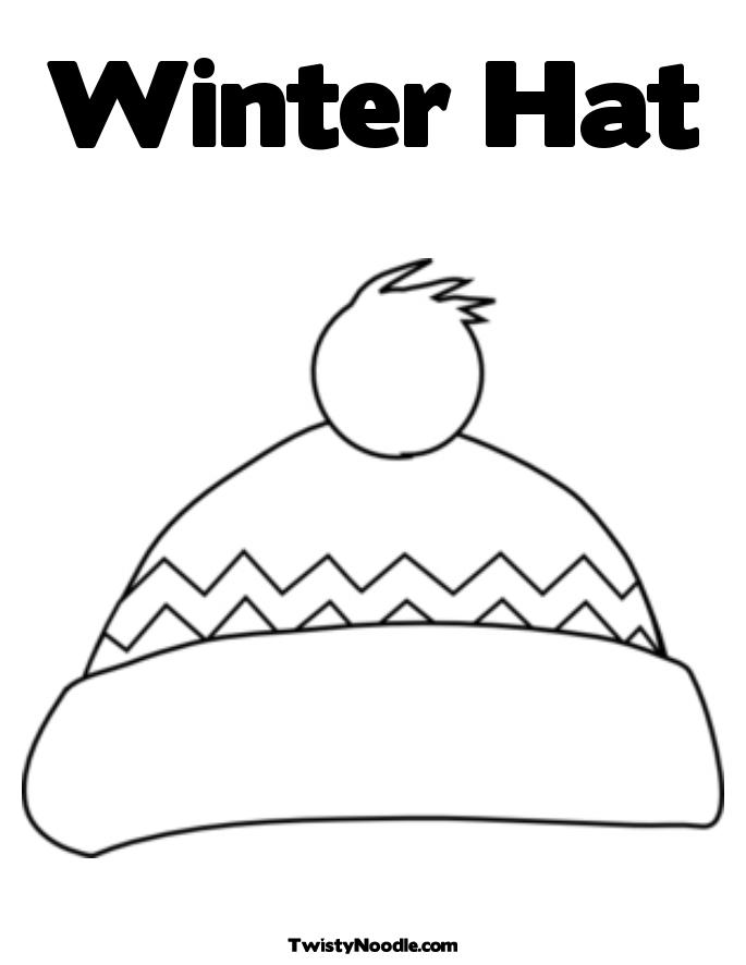 Winterhatcoloringpage | Search Results | Calendar 2015