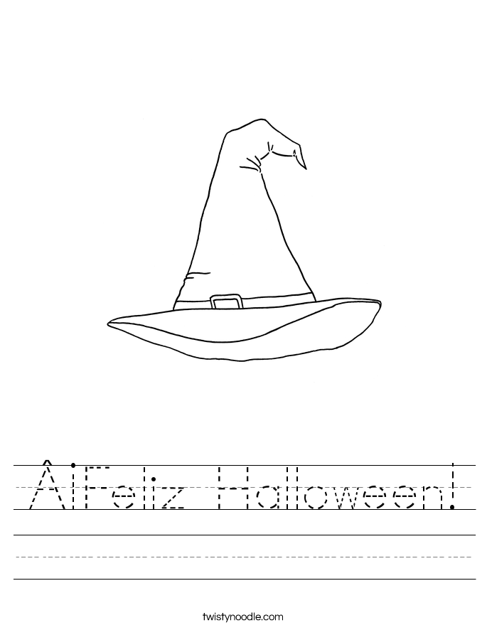 ¡Feliz Halloween! Worksheet