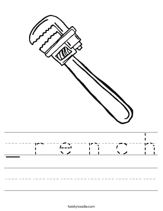 _ r e n c h Worksheet