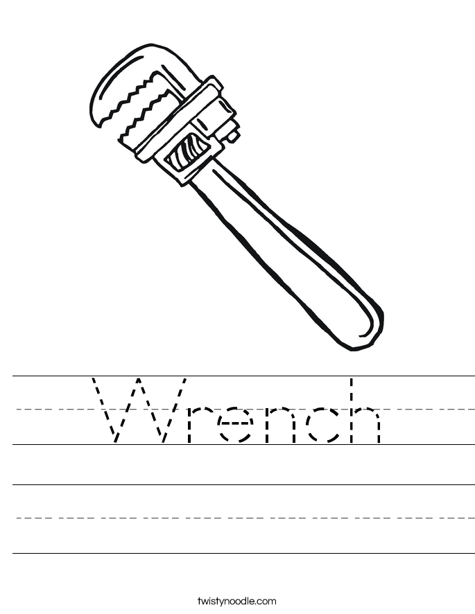 Wrench Worksheet