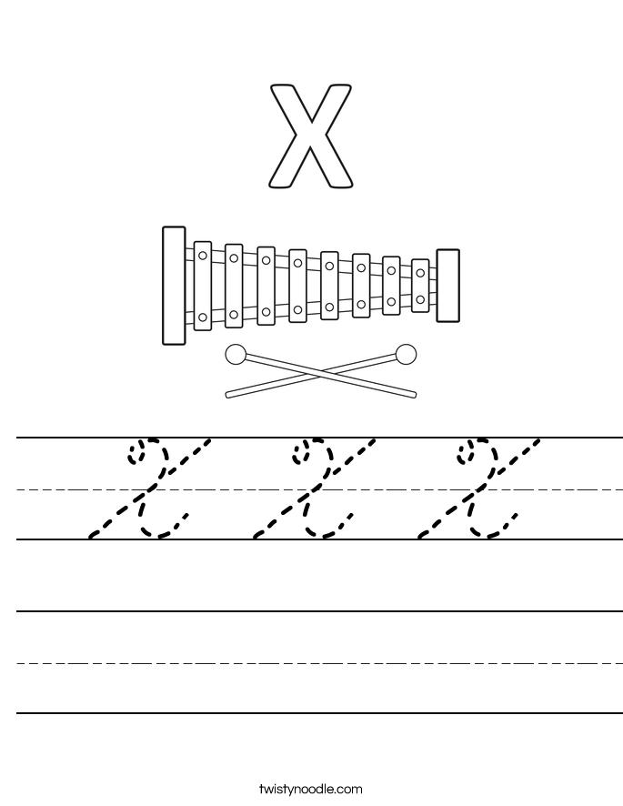 X X X Worksheet