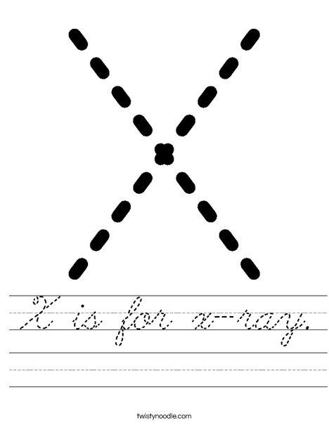 Xx Worksheet