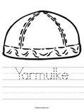 Yarmulke Worksheet