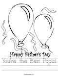You're the Best Papa! Worksheet