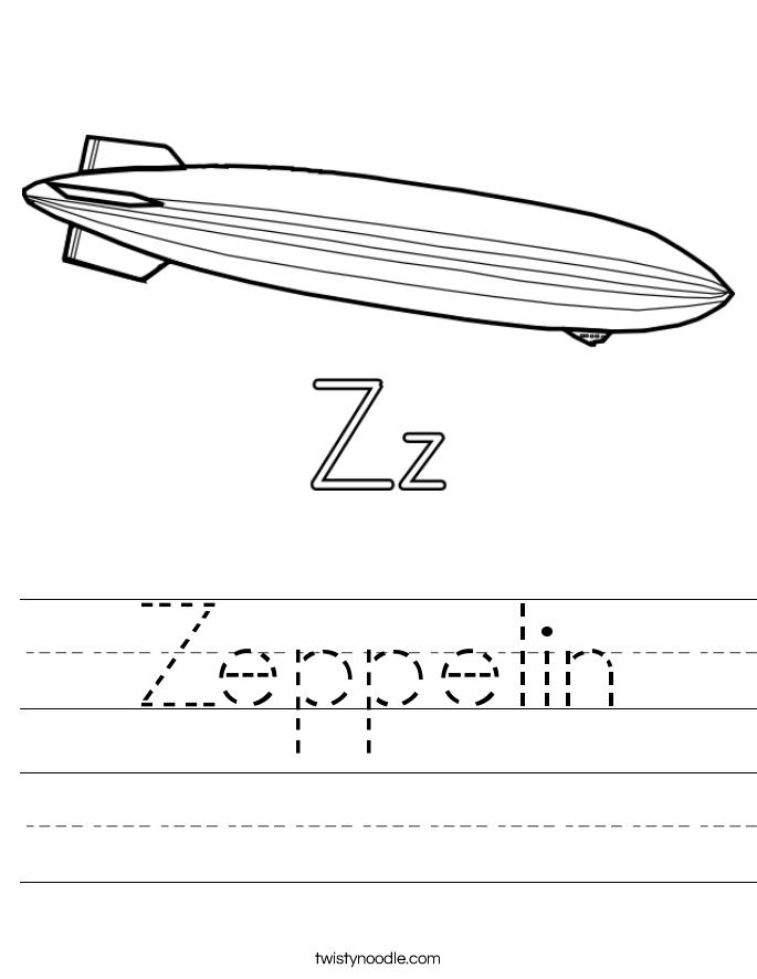 Zeppelin Worksheet