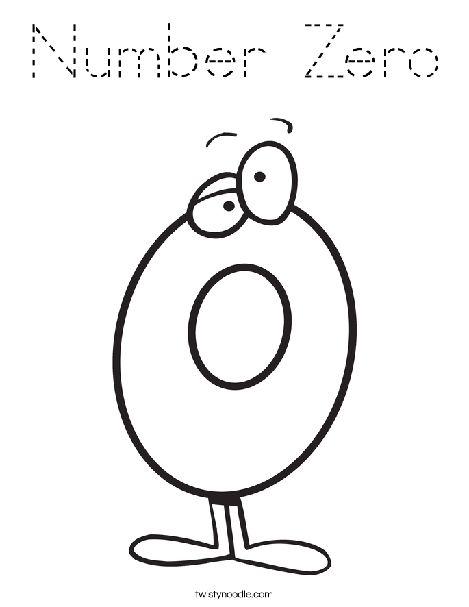 zero coloring pages - photo#21