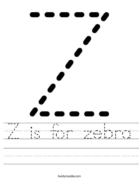 Zz Worksheet